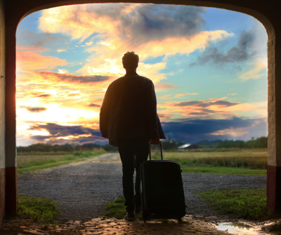 Ich packe meinen Koffer und nehmemit.….